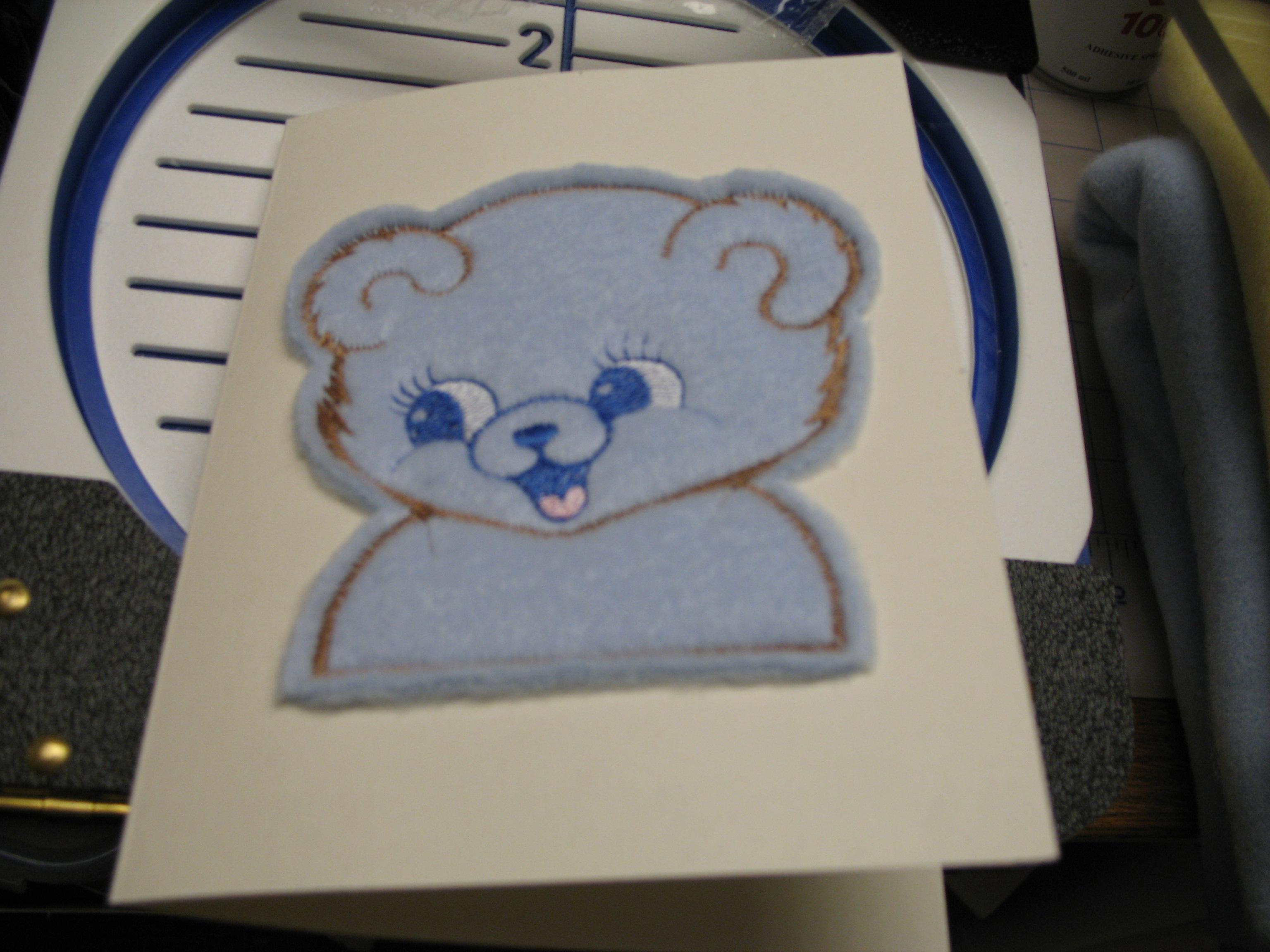 Teddy Bear Gift Card