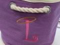 Monogrammed L Bag