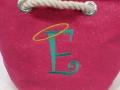 Monogrammed E Bag