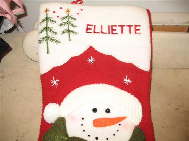 Christmas Stocking 2
