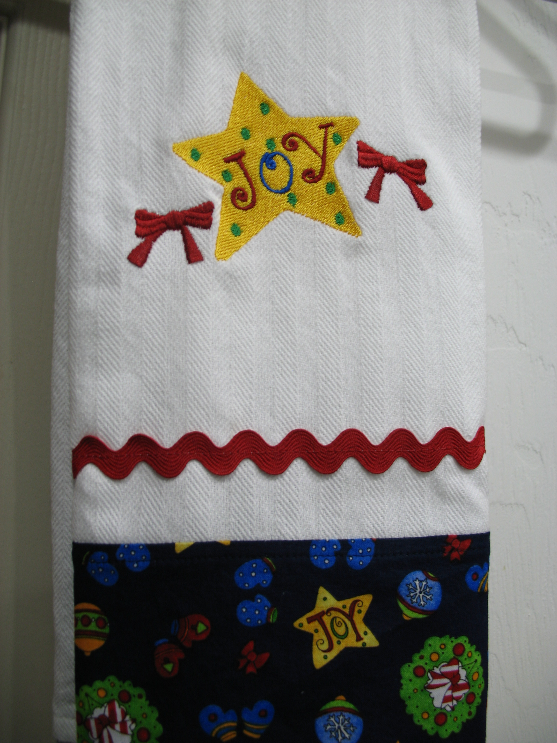 Christmas Star Towels