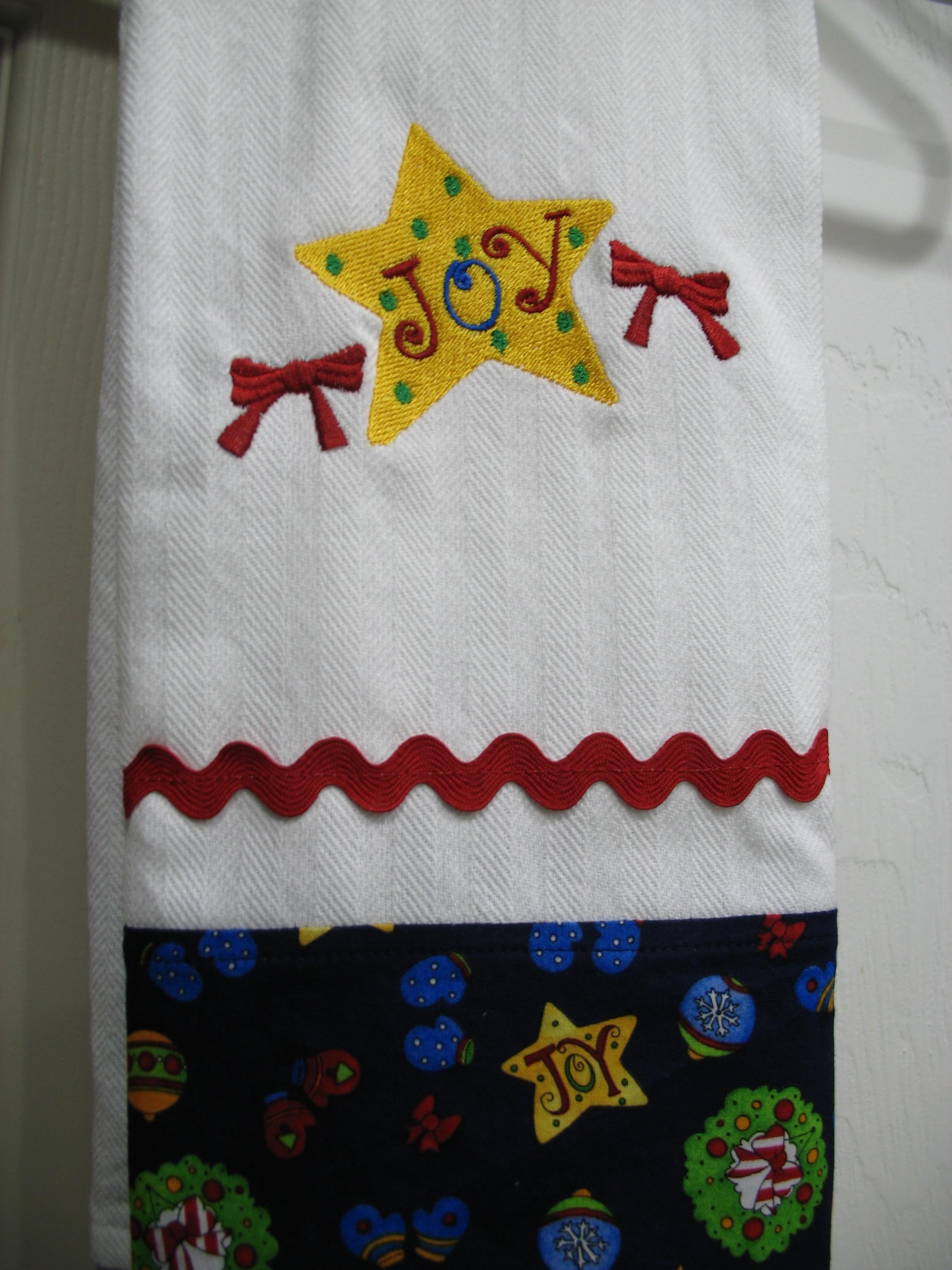 Christmas Star Towels
