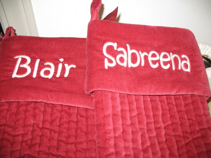 Blair & Sabreena