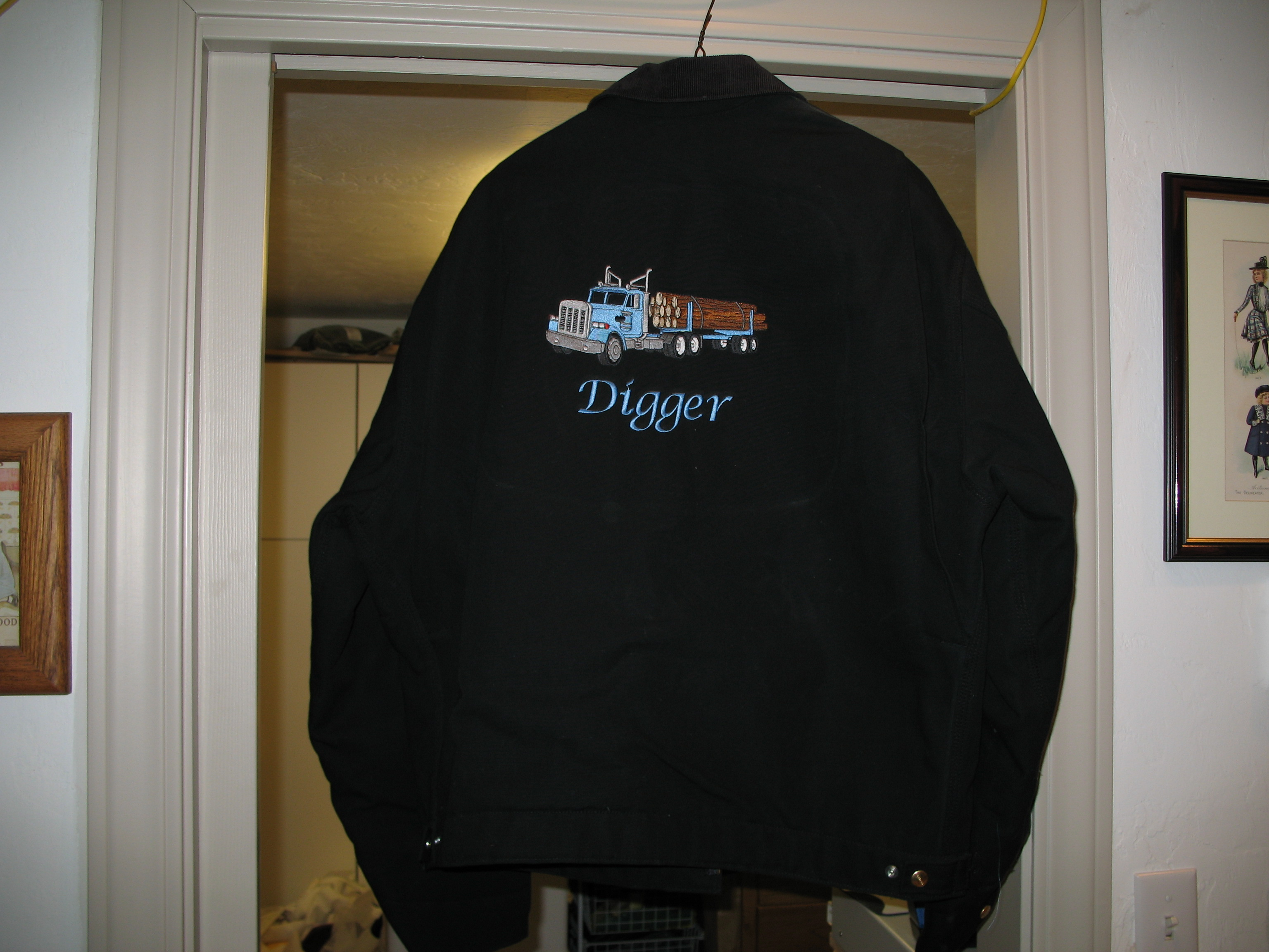Digger Jacket Back