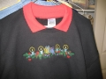 Christmas Scene on Sweatshirt