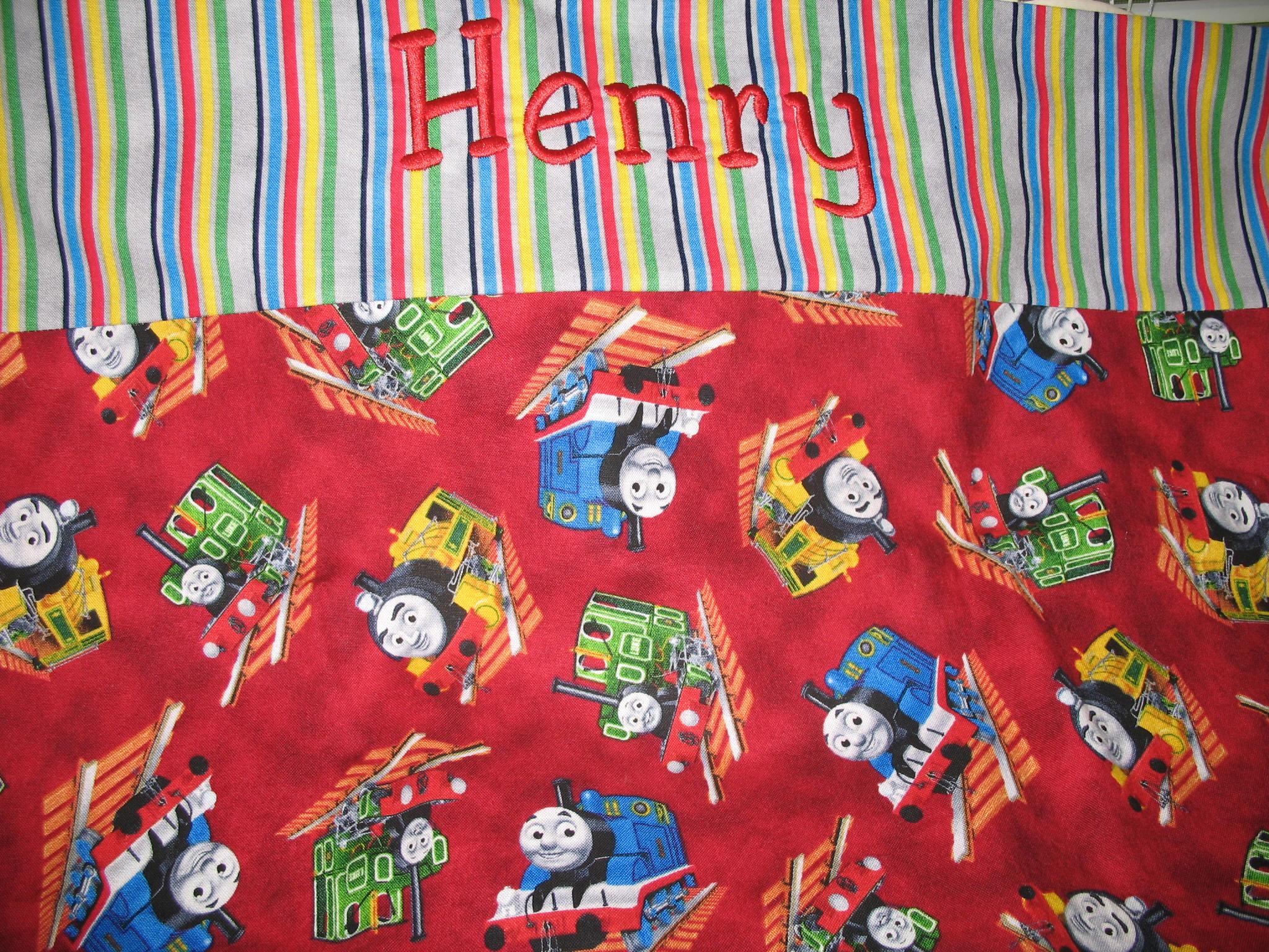 """Monogrammed """"Henry"""" Pillowcase"""