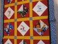 Sports Quilt Top
