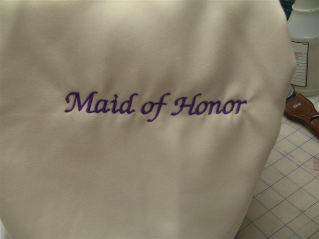 Wedding, Maid of Honor